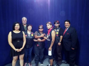 Carnalismo Houston Brown Berets, featured on Latino Talk TV