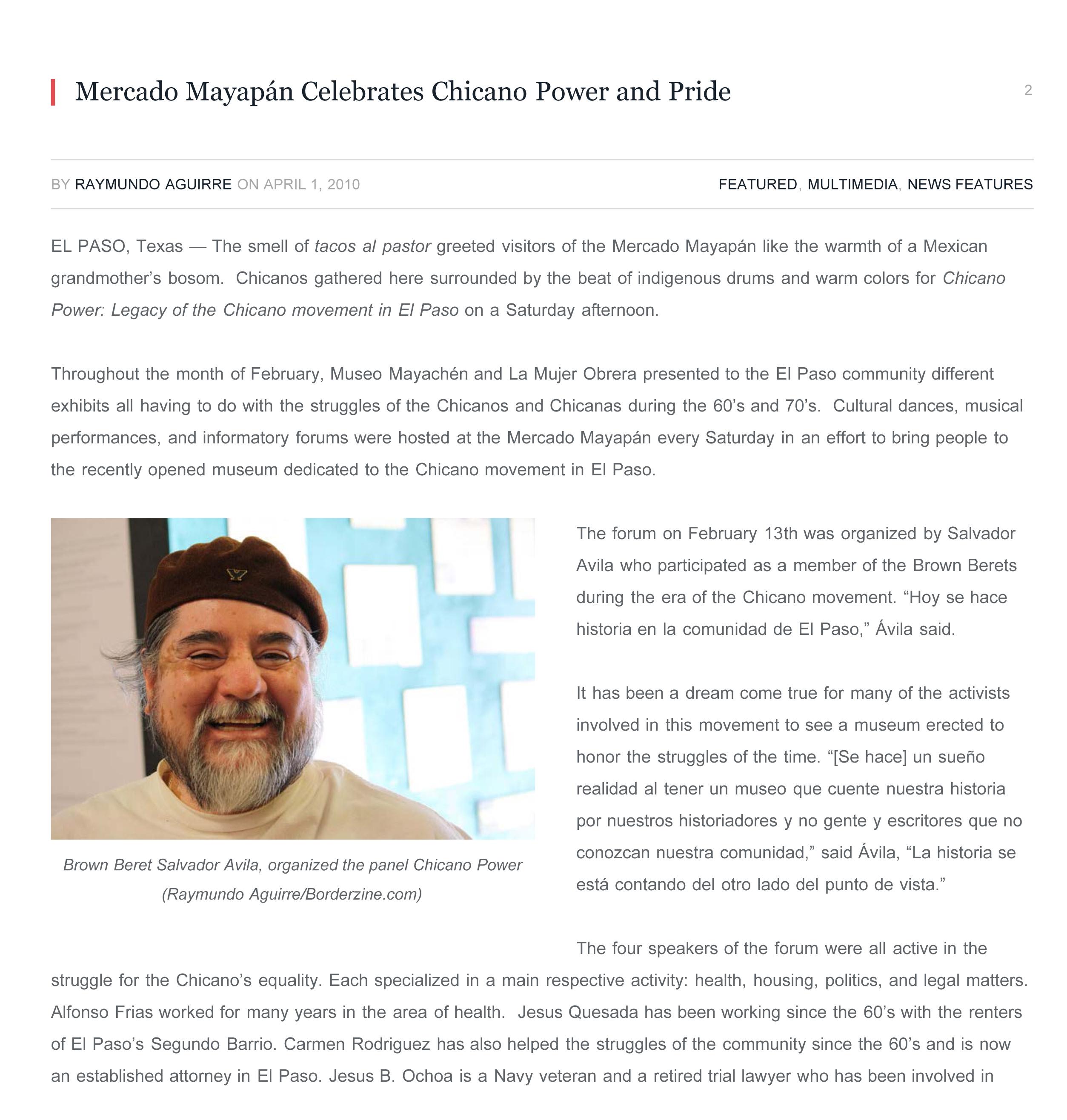 Mercado Mayapán Celebrates Chicano Power and Pride - Borderzine